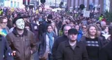 Grande-Bretagne : les pro-Pegida moins nombreux que les contre-manifestants