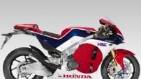 La nouvelle Honda RC213V-S Concept, fortement inspirée de la machine de Marc Marquez, double champion du monde MotoGP, et dévoilée en marge du Salon de Milan 2014.