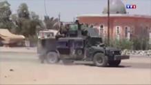 La prise de la ville de Ramadi en Irak par les djihadistes de l'Etat islamique en mai 2015