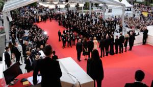 Montée des marches lors du Festival de Cannes 2016