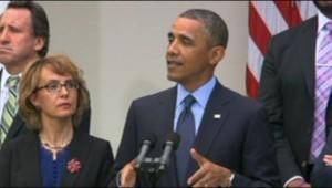 """Pour Obama, le lobby des armes a """"menti"""" (18 avril 2013)"""