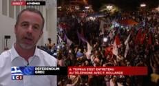 """Référendum grec : 3.000 personnes rassemblées pour un """"non historique"""""""