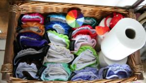 Une vingtaine de couches lavables sont nécessaires pour un enfant de la naissance à ses 3 ans.
