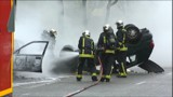"""Saint-Sylvestre: """"moins de voitures brûlées"""" que l'an dernier"""
