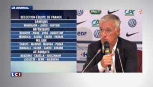 """Deschamps : """"Les joueurs de la Coupe du monde méritaient d'être là"""""""