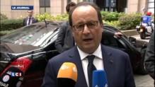 Hollande à Bruxelles : la priorité, c'est la croissance et l'emploi en Europe
