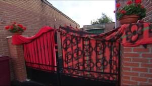 La maison qu'habitait Dominique Cottrez, la femme soupçonnée en juillet 2010 d'avoir tué huit de ses nouveau-nés à Villers-sur-Tertre (Nord).