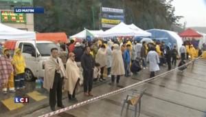 Naufrage du ferry en Corée du Sud : les familles laissent leur colère éclater