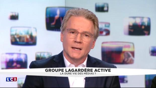 """Olivier Royant : """"Il n'y aura pas de licenciements"""" à Lagardère"""