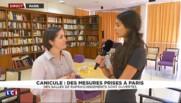 Alerte à la canicule : à quoi servent les salles de rafraîchissement ouvertes à Paris ?