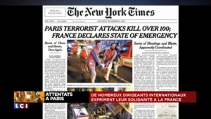 Attentats à Paris : la presse internationale unanimement sous le choc