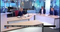 """Chirac et l'auteur de ses mémoires : """"On s'installait autour d'un gin tonic à 10 heures du matin"""""""