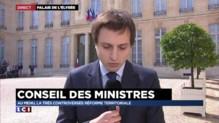 Conseil des ministres : la liste des capitales régionales dévoilée