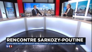 """Sarkozy à Moscou : """"Pour Poutine, il va de choix de recevoir Sarkozy, plus ouvert que Hollande"""""""