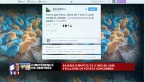 """""""François le riquiqui"""", #Grhollande... la conférence de presse du président fait réagir la Toile"""