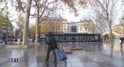 Hommage national : les artistes de Street Art s'expriment sur les murs de la capitale