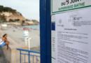 L'arrêté anti-burkni placardé à l'entrée d'une des plages de Nice