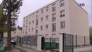 L'immeuble du principal suspect dans l'enquête sur la série des quatre meurtres commis dans l'Essonne en 5 mois