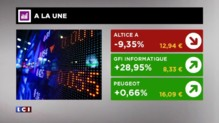 La Bourse de Paris du m