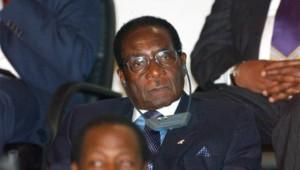 Le président zimbawéen Robert Mugabe