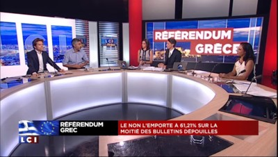 """Référendum : le non grec, """"une bonne nouvelle"""""""