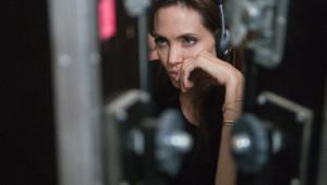 Angelina Jolie sur le tournage du film Au pays du sang et du miel