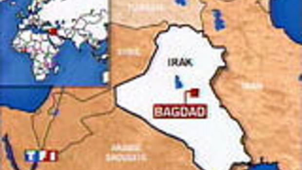 irak asie cartes-drapeaux monde