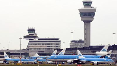 L'aéroport d'Amsterdam-Schiphol