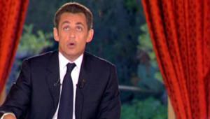 Nicolas Sarkozy le 24 avril 2008 Elysee