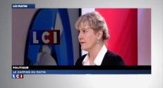 Pour Nadine Morano, le mariage pour tous &quot;n&#039;est pas la priorit des Franais&quot;
