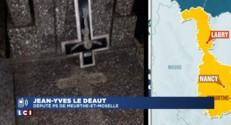 """Tombes profanées en Meurthe-et-Moselle : """"La bêtise aussi doit être sanctionnée"""""""