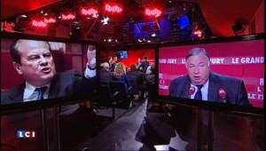 """Axe néo-frontiste à l'UMP ? Pour Larcher, """"Cambadélis dit des conneries"""""""