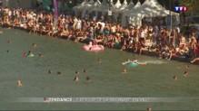 Canicule : quand le bassin de la Villette prend des allures de Côte d'Azur