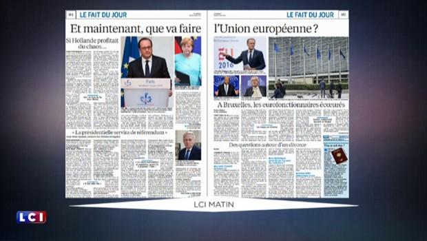"""""""Good luck"""", """"Séisme en Europe"""" : la revue de presse du samedi 25 juin"""