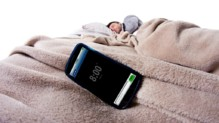 smartphone lit sommeil dormir appli