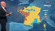 10 départements en alerte orange : attention aux vents et aux vagues sur le littoral samedi