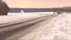 Le 13 heures du 28 décembre 2014 : Un froid glacial s'est abattu sur la Lorraine - 615.452