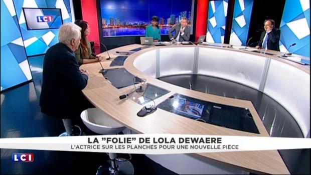 """""""Une Folie"""", l'actrice Lola Dewaere sur les planches pour le chef d'œuvre de Sacha Guitry"""