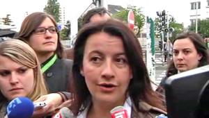 Cécile Duflot, le 7 mai 2012.