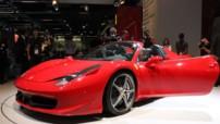 Ferrari 458 Spider Francfort 2011