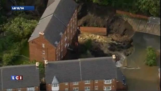 Inondations spectaculaires en Grande-Bretagne