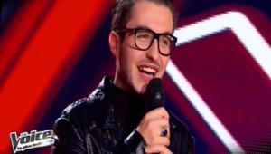 Olympe dans The Voice, le 23 mars 2013.