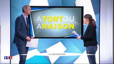 """Sortir de l'euro, Marine Le Pen n'a """"jamais dit ça"""" ? Faux, la preuve en images"""