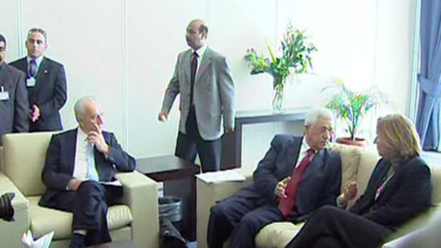 TF1/LCI Proche Orient Livni Peres Abbas en Egypte