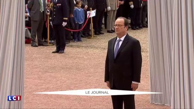 François Hollande a commémoré l'Appel du 18 juin au Mont Valérien