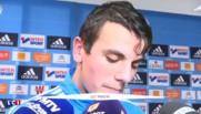 """OM : """"Le coach me fait énormément confiance"""" se réjouit le jeune buteur Rabillard"""