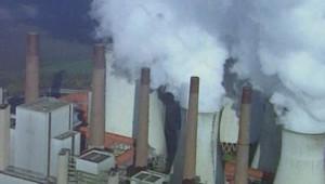 réchauffement climat pollution carbone usine industrie