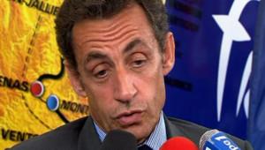 Sarkozy sur le Tour de France