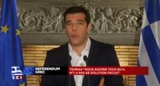 """Tsipras : """"Le peuple grec a choisi l'Europe de la démocratie et de la solidarité"""""""