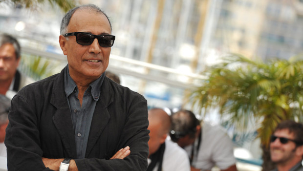 Abbas Kiarostami à Cannes en 2010.